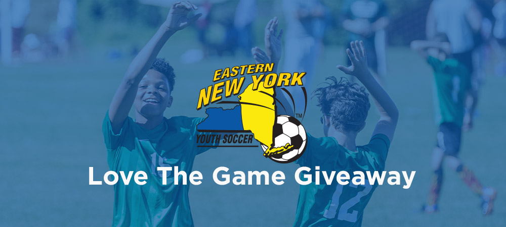Eastern New York Youth Soccer Association Running 'Love The Game' Giveaway In February