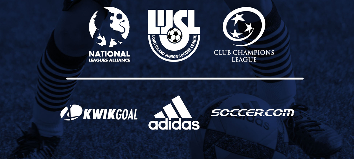 National Leagues Alliance, Club Champions League, and Long Island Junior Soccer League Ink Unprecedented adidas, Soccer.com, Kwik Goal Partnership Agreement