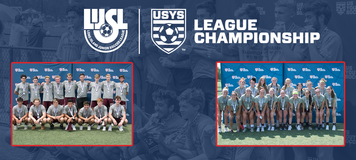 USYS League Championship Playoffs Complete, Next Stop USYS Eastern Regionals for Two LIJSL Teams