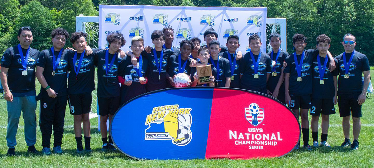 USYS Eastern Regionals Completed, BU13 Brentwood 2008 Premier Man City Advances to Nationals