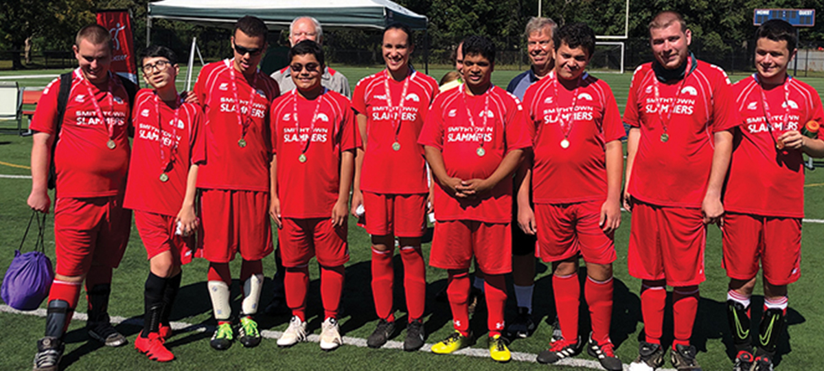 Special Olympics Soccer Returns to Cantiague Park